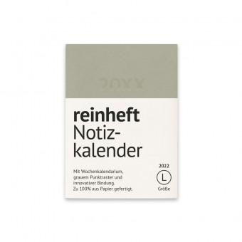 reinheft Notizkalender 2022, mit Softcover Umschlag aus Führerscheinpapier, Größe L