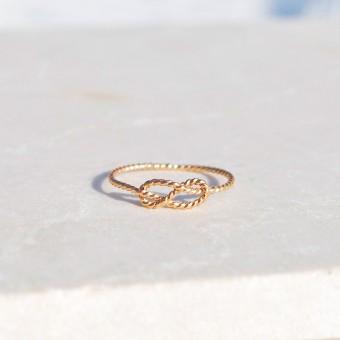 iloveblossom INFINITY RING // gold