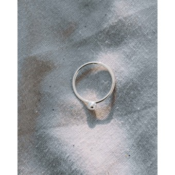 iloveblossom PEBBLE RING // silber