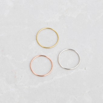 iloveblossom SIMPLE THINGS RING // rosé