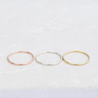 iloveblossom SIMPLE THINGS RING // silver