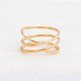 iloveblossom TRUE BEAUTY RING // gold