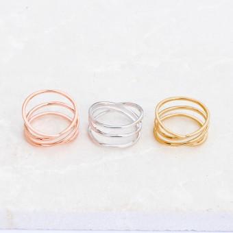 iloveblossom TRUE BEAUTY RING // silver