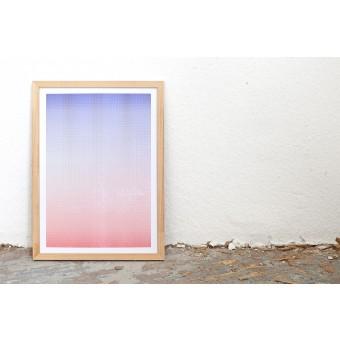 Studio Una | Blue vs. Red | Riso Print