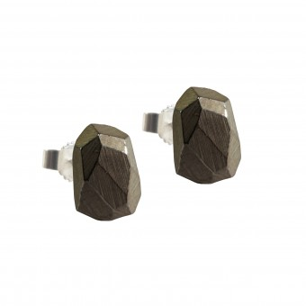 baaj Rocky Ear Studs Black