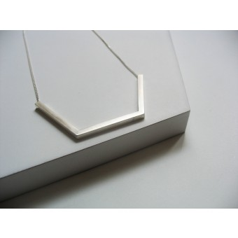 "puur.jewellery Kette ""rough edges no.1"""