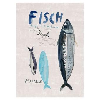 Human Empire Fisch Poster (A3)