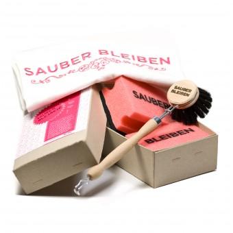 """STUDIOBUEHLER """"Sauber bleiben"""" Küchenquartett"""