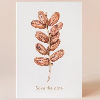 "Grußkarte ""Save the date"" mit Umschlag / Kamila Sidelnikov"