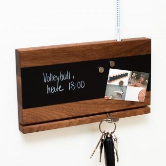klotzaufklotz Schlüsselbrett Holz (Nussbaum)