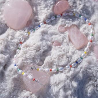 Fünf Perlen Kette