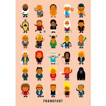 Human Empire Frankfurter Leute Poster (Din A3)