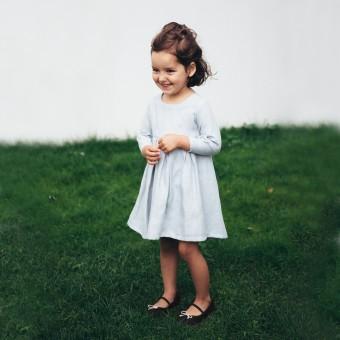 Von mignon - Das curious Kinderkleid mit langen Ärmeln