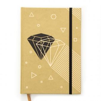 aprilplace // Diamond // Notizbuch Schreibbuch Din A5