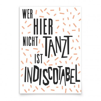 aprilplace // Indiscotabel // Kunstdruck Din A3