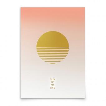 aprilplace // Sun Of My Life // Kunstdruck Din A3
