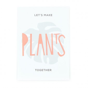 aprilplace // Plans Together // Postkarte Din A6
