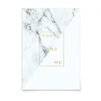 aprilplace // You and Me // Postkarte Din A6