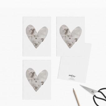 Kruth Design / POSTKARTEN SET HEART