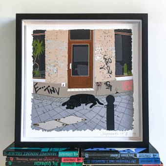 "Neighbour Series ""Neighbour No. 11"" – YUKY RYANG, Giclée-Druck, Format 28 x 28 cm"