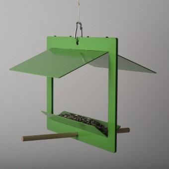 Olaf Riedel Vogelhaus - birdhouse DIN A4/DIN A3 grün