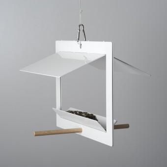 Olaf Riedel Vogelhaus - birdhouse DIN A4/DIN A3 weiß