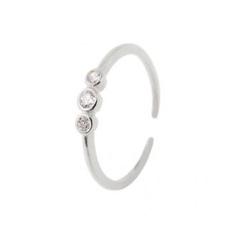 Anoa Ring Finja 925 Sterling Silber Zirkonia