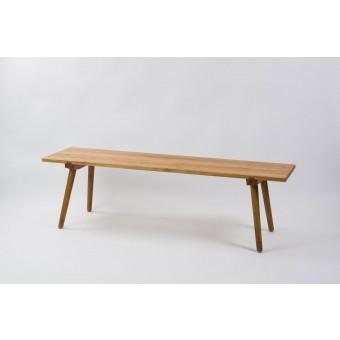 """Sitzbank """"Nikklas"""" aus Eichenholz - Anton Doll Holzmanufaktur"""