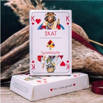 Spielköpfe Spielkarten - Skat - Das gendergerechte Kartendeck