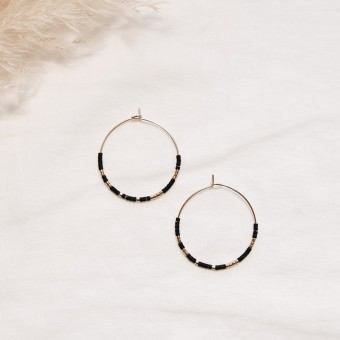EVE+ ADIS // SKINNY HOOPS black