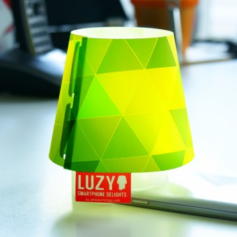 Ambientshop LUZY - Smartphoneleuchte - Lampenschirm fürs Handy