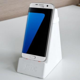 SMOC - Smartphone- und Tablethalter (Smartphonedock) - Hellgrau