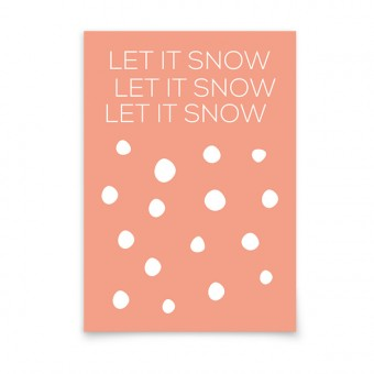 aprilplace // Let it Snow // Weihnachtskarte A6