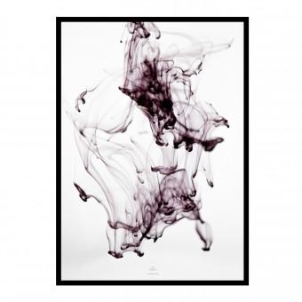 na.hili SOFT movement - purple Artprint A3, 50x70, A1 Poster