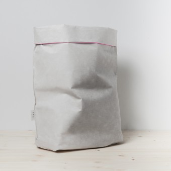 KAMI. LAUNDRY BAG GREY NEON / L