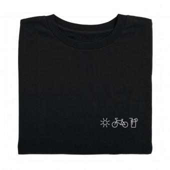 Charles / Shirt Sonne, Fahrrad, Limo / 100% Biobaumwolle / Fair Wear zertifiziert