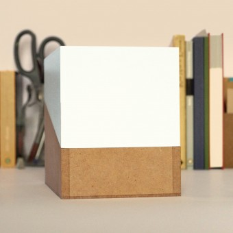 sperlingB – Happydaysbox, mit Deckel weiß, sprachneutraler Erinnerungskalender, schönetagebox Vol. 2