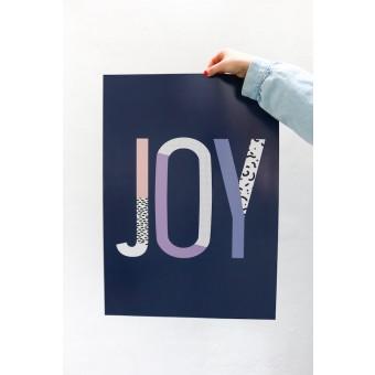 "stahlpink - ""JOY""-Poster, Fine-Art-Print"