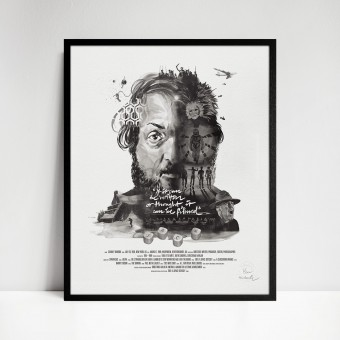 stellavie Movie Director Portrait Print, Stanley Kubrick