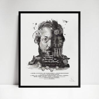 stellavie Movie Director Portrait Print, Stanley Kubrick