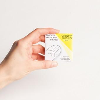 Craftimoko Touchpad Handschuh Stickset