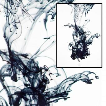 na.hili SUDDEN movement - blue Artprint A3, 50x70, A1 Poster