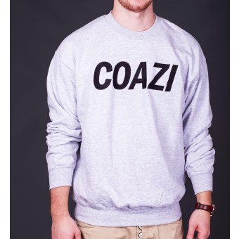 Coazi Label Sweater Grey