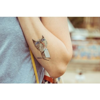 Temporary Tattoo - Kitty (2er Set)
