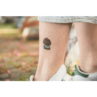 Temporary Tattoo - Elephant (2er Set)