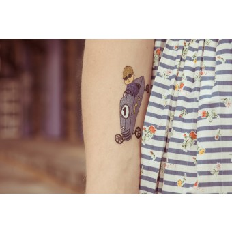 Temporary Tattoo - Cruiser (2er Set)