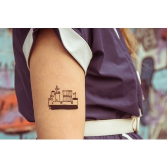 Temporary Tattoo - ship (2er Set)