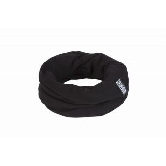 FILDPIECES Jersey Loop Schal 100% Merinowolle (schwarz)