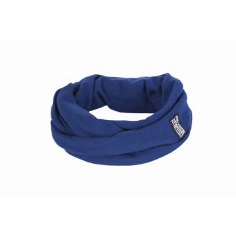 FILDPIECES Jersey Loop Schal 100% Merinowolle (blau)