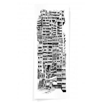 Wolfgang Philippi CIGLANE PLAKAT 35x95 cm
